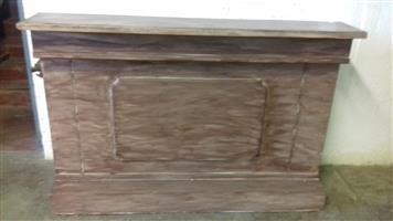Solid Wood Mini Bar