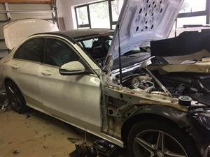Merc Benz W205 Breaking up for spares