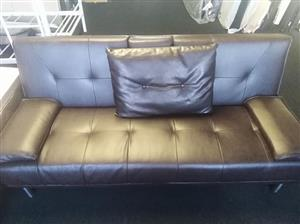 Bonded Leather sleeper Couch