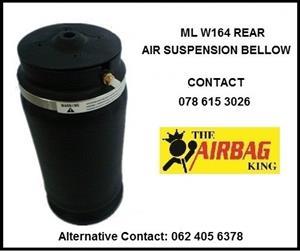 Rear air suspension air spring / air bellows for Mercedes Ml w164 - 2006- 2011