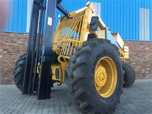 Bell 120 3 wheel forklift for sale job-355