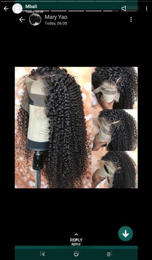 We selling Brazilian wigs and human 100% hair