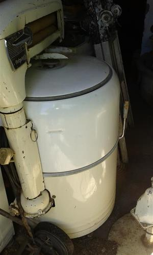 Antique Hotpoint Washing Machine