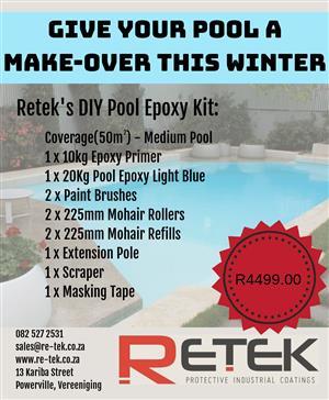 Retek - Pool Epoxy DIY Kit