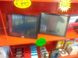 """Refurbished 15"""" Monitor Touch Screen @ R1999 each"""