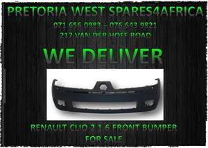 RENAULT CLIO 2 1.6 FRONT BUMPER FOR SALE