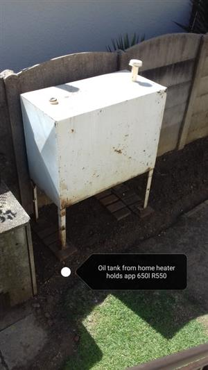 Steel Oil Tank for Home Heater