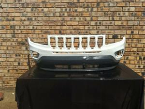 Jeep Compass Front Bumper including lower spoiler