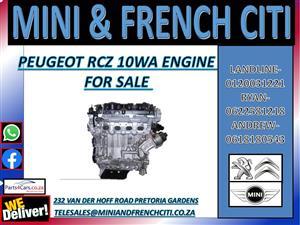 PEUGEOT RCZ 10WA ENGINE FOR SALE