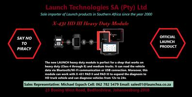 Truck Diagnostic HD III Scanner Special! Launch Technologies