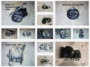 Mercedes power steering pumps for sale.
