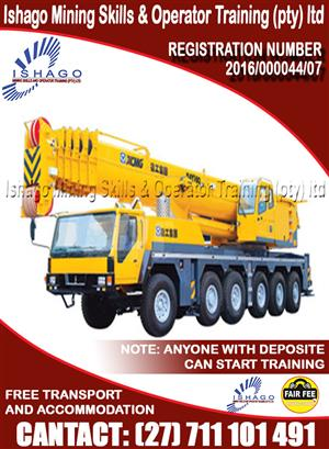 Mobile crane course in rustenburg/Namibia whatsap/call +27815568232
