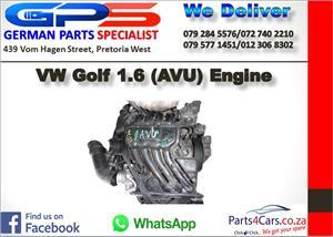 VW Golf 1.6 (AVU) Engine for Sale