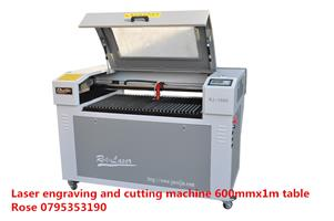 laser rotary / cylinder engraving and cutting machine