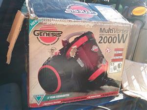 Genesis 2000w vacuum cleaner