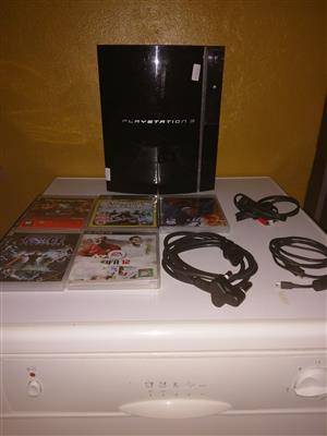 """""""PS 3 Console & 5 Games"""" > Alberton, JHB"""