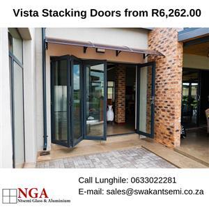Increase Leaving Space, Vistafold Stacking Doors, Affordable Folding Doors