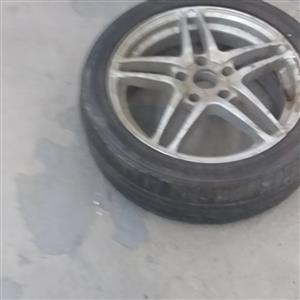 Automotive spare parts clearance sale.