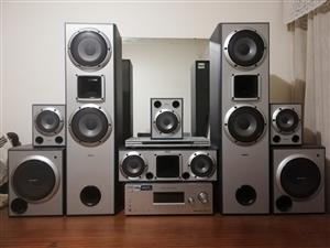 Sony 6 Channel 1510 Watt 11 Speaker Surround Sound System and/ or Samsung 46 inch  Smart5 TV Combo