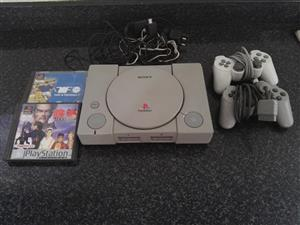 Playstation 1 Excellent Condition With 2 Games