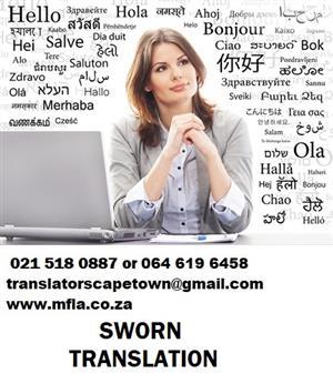 Professional Sworn German Translators in Cape Town