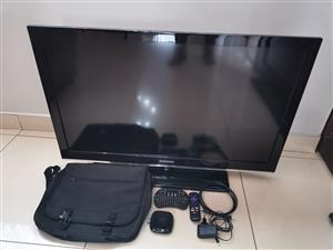 40inch TV with Extras