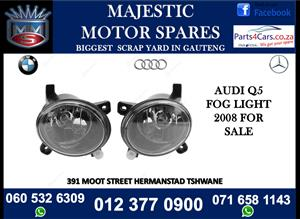 Audi Q5 2008 fog lights for sale