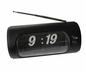 Black digital desk clock with radio!! On Promotion!!
