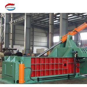 Hydraulic scrap recycling packing metal shear baler machine