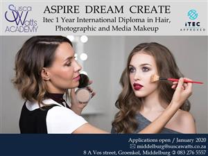ITEC Diploma in Hair, Photographic and Media Make up Course