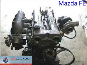 Imported used MAZDA FE  FWD  EFI, MAZDA 626/B SERIES/E SERIES/ 2.0L engine Complete