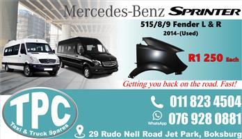 Mercedes Sprinter 515/8/9 Fender 2014-Used - Quality Replacement Taxi Spare Parts.