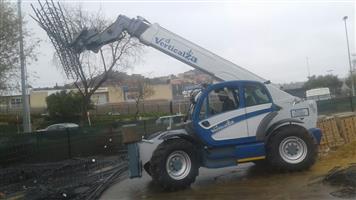 28. Manitou MT1840 - Telescopic Forklift Telehandler, 4-ton 18m