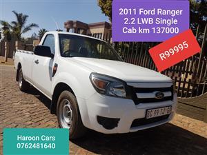 2011 Ford Ranger 2.2 (aircon)