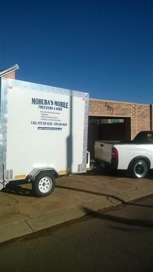 Mohuba's Mobile Freezers, Fridges and Coldrooms for hire