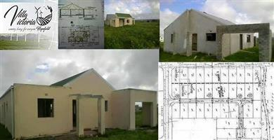 Unfinished houses for sale at cost