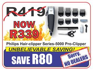 Philips Hair-clipper Series-5000 Pro-Clipper
