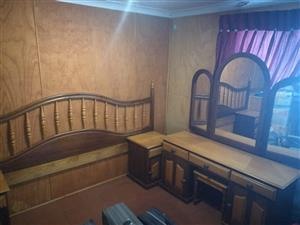 Oak and Emboya Bedroom Suite