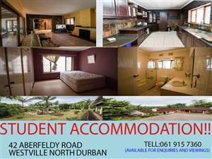 Student Accomodation in Durban