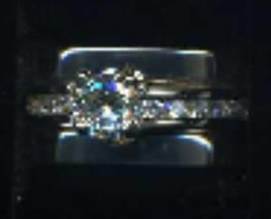White Gold Diamond Ring.