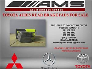 TOYOTA AURIS REAR BRAKE PADS FOR SALE
