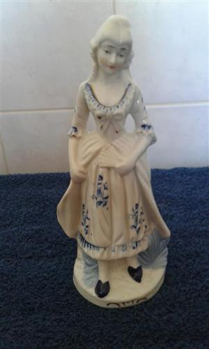 Blue lady statue for sale