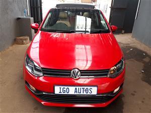 2015 VW Polo 1.2TSI Highline