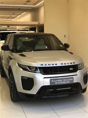 2018 Land Rover Range Rover Evoque 5-door EVOQUE 2.0 HSE DYNAMIC