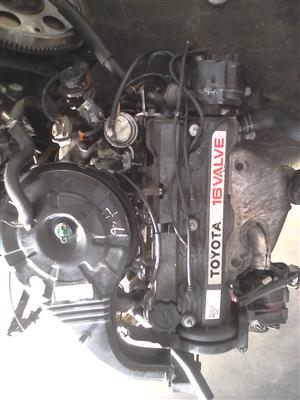 Toyota Corrolla 1.6 Carb engine for sale
