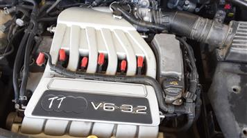 AUDI T T 3.2 ENGINE FOR SALE