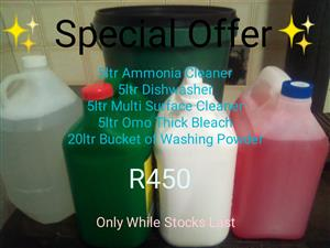 Cleaning Combo Special Offer