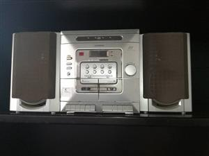Telefunken cd and tape player with speakers