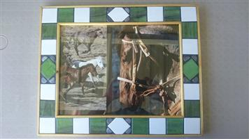 Hand made Mosaic picture frame