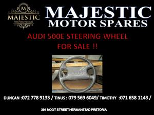 AUDI 500 E STEERING WHEEL FOR SALE !!